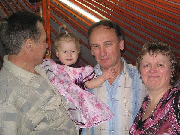 Фото - Моя семья: : Два дедушки, бабушка и наша внучка Виолетта - Светлана, Красноярск