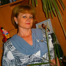 Любовь, 57 лет, Ильичевск