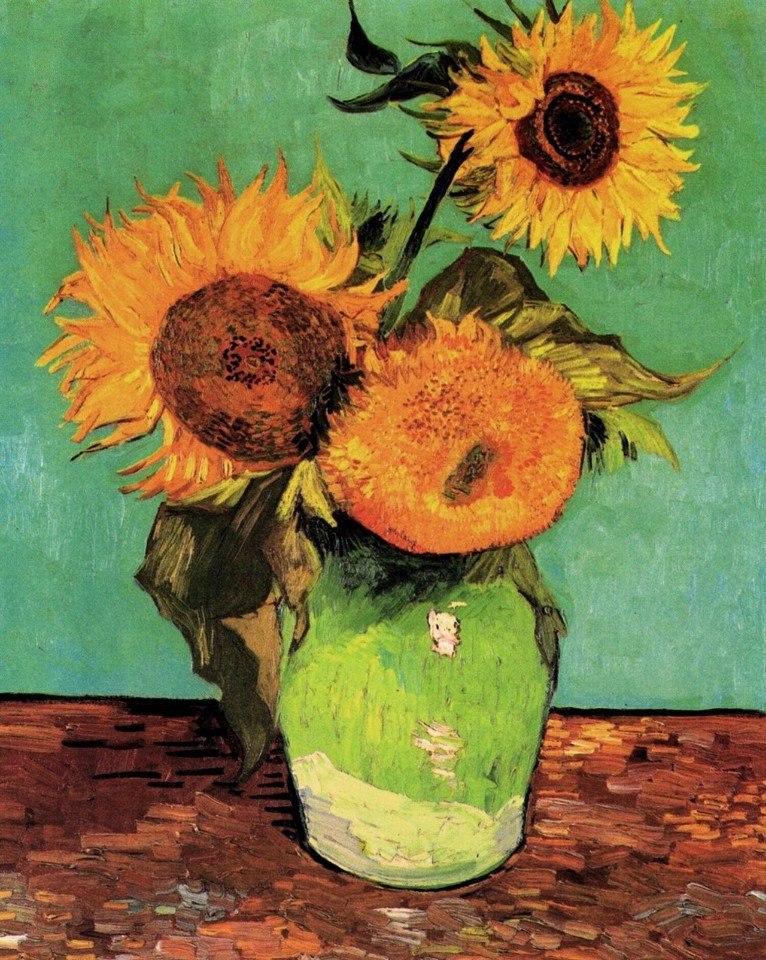 Цветочные натюрморты кисти Винсента Ван Гога - 6
