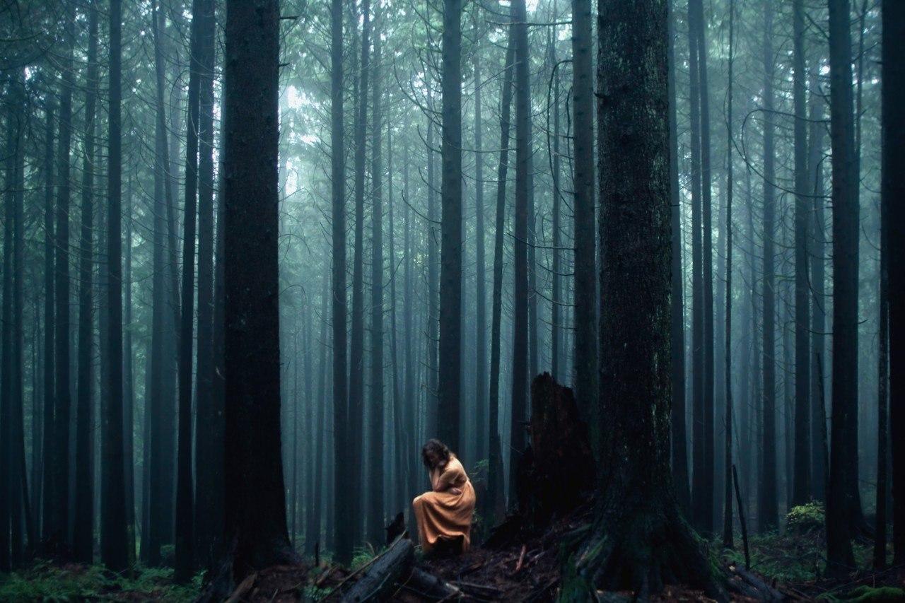 Единение с природой в снимках 21-летнего фотографа Элизабет Гэдд из Канады - 4
