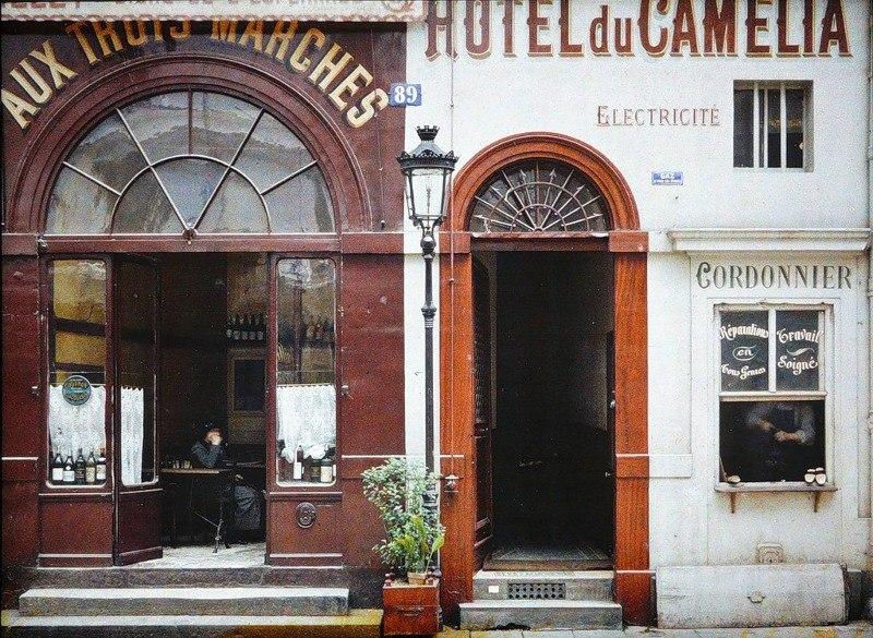 Цветные фотографии Парижа 1914 года. Париж — город огней. Он был любим по многим причинам на ...