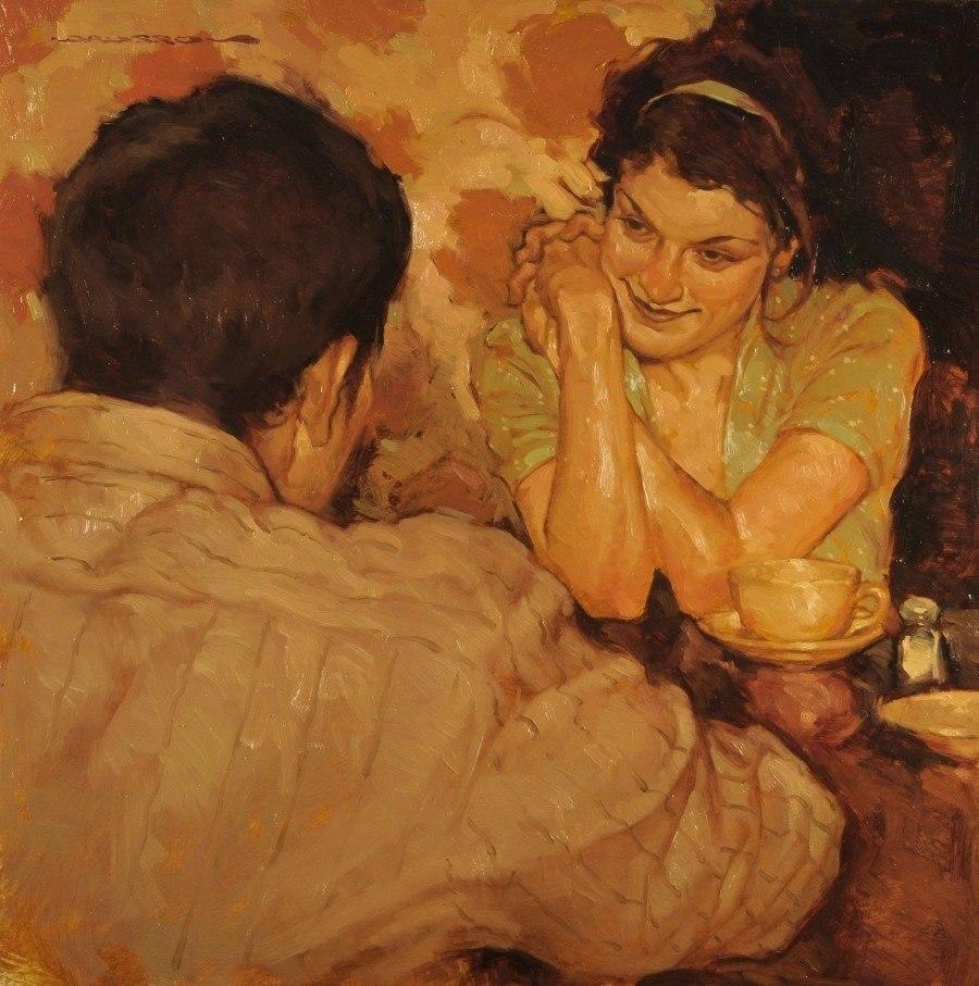 Человеческая нежность в картинах художника Джозефа Лорассо