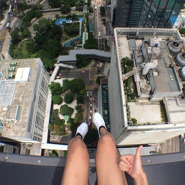 Гуляя по крышам Гонконга. - 6