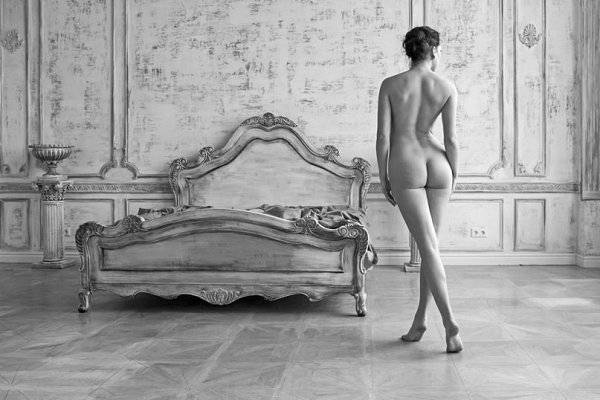 Janice Dickinson Poses Naked