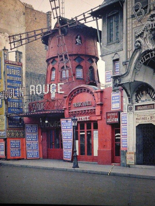 Цветные фотографии Парижа 1914 года. Париж — город огней. Он был любим по многим причинам на ... - 2