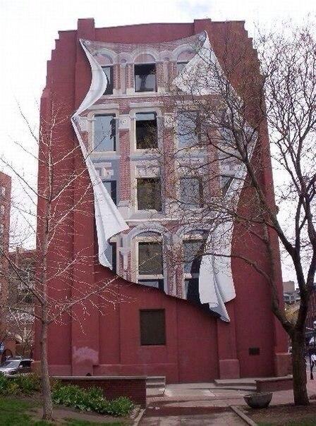 Рисунки на домах - хороший способ оживить серые и скучные городские постройки - 4