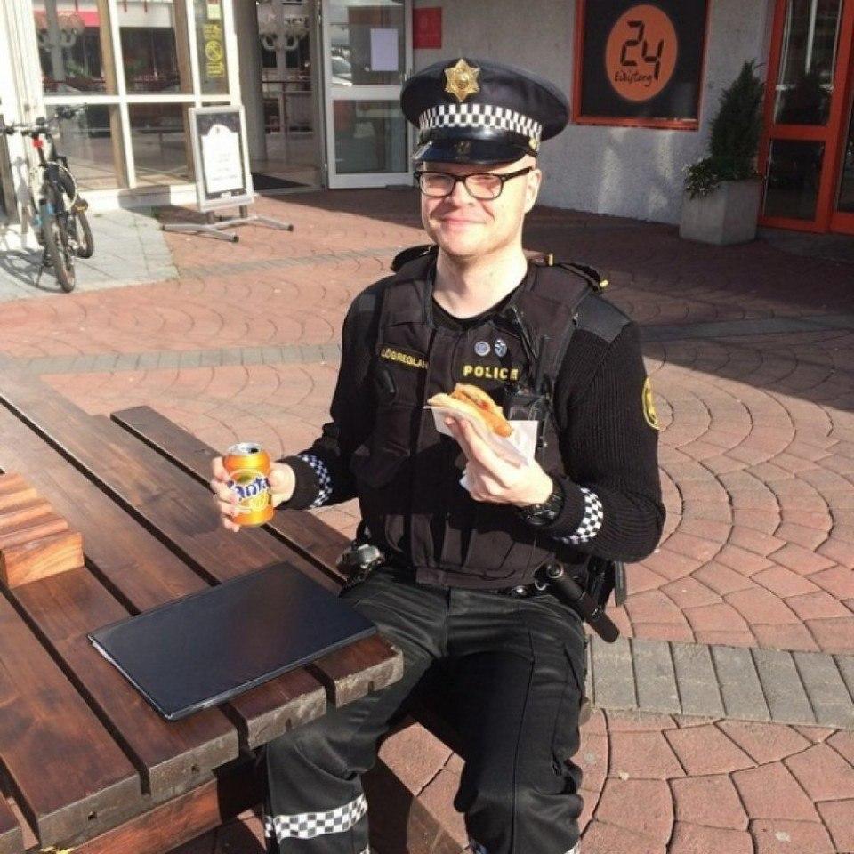 Официальный инстаграм исландской полиции - 5
