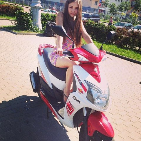 Фото: Алина, Москва в конкурсе «За рулём»