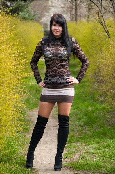 Фото: Алёнка, 25 лет, Одесса в конкурсе «Золотая осень»