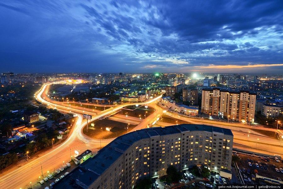 Новосибирск с высоты. - 8