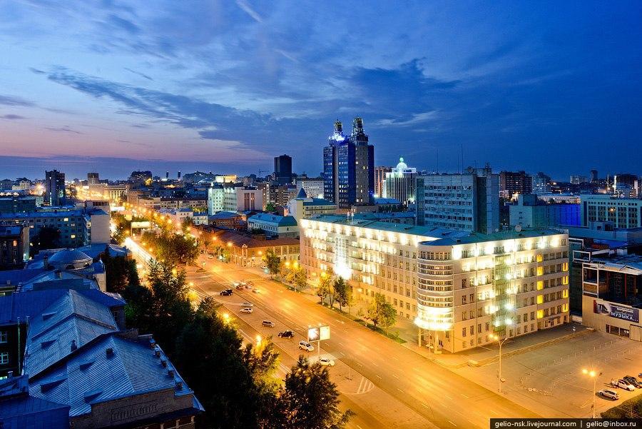 Новосибирск с высоты. - 7