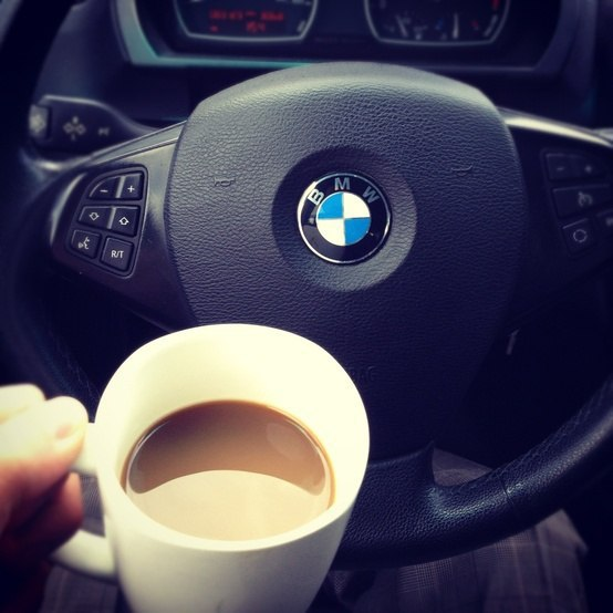 Открытка доброе утро машина