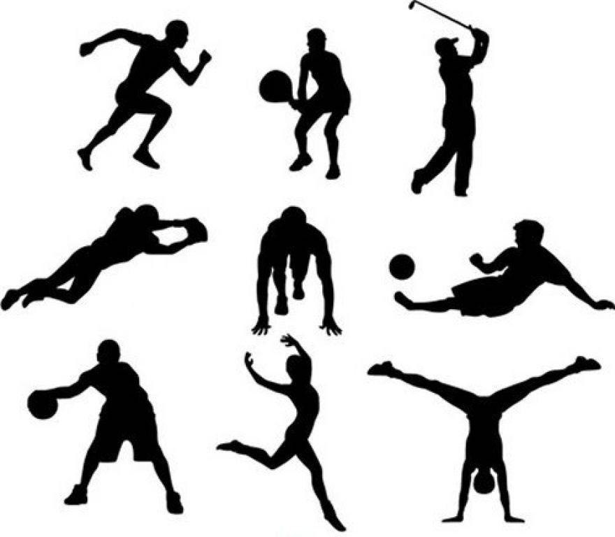 Графические картинки про спорт
