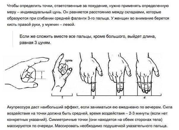 Точка Похудения На Руке.