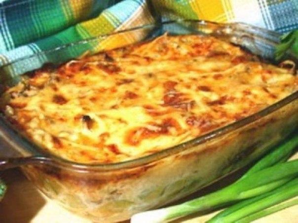 Куриная запеканка.Ингредиенты:куриное филе 500 гр.помидоры 2 шт.твердый сыр 150 гр.сметана 15-20% ...