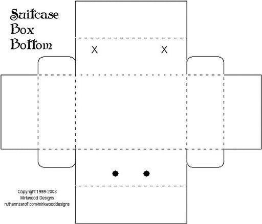 Открытки для, портфель открытка шаблон