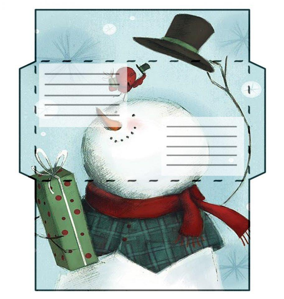 Картинки, открытки на новый год на принтере