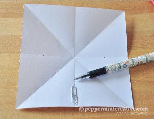 Бумажные звёздочки - 2