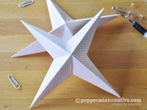 Бумажные звёздочки - 5