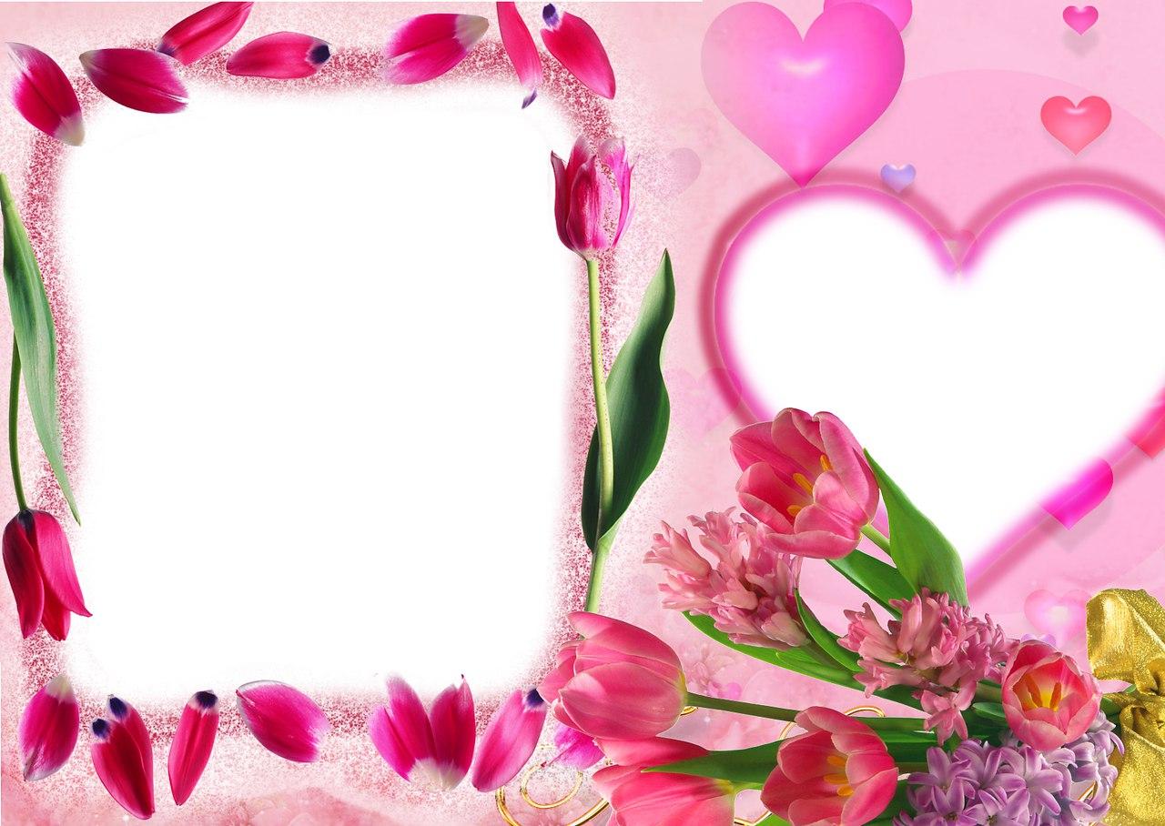 Открытка маме на 8 марта фотошоп