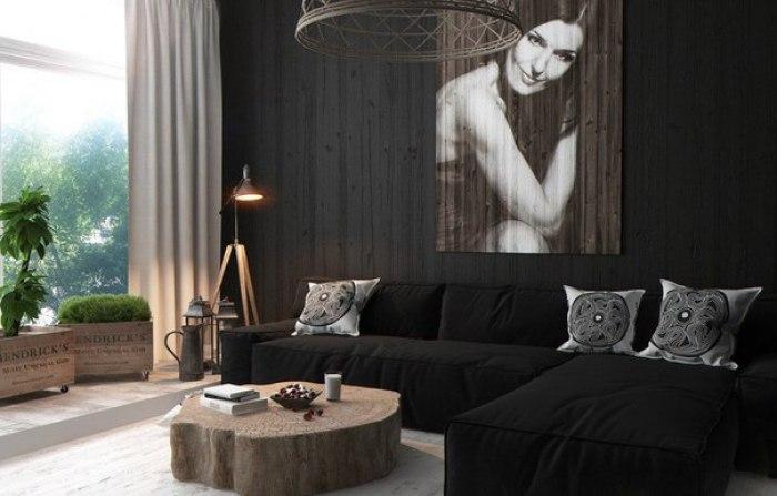Интерьер однокомнатной квартиры - 5