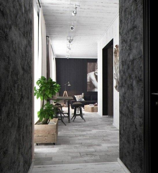 Интерьер однокомнатной квартиры - 2