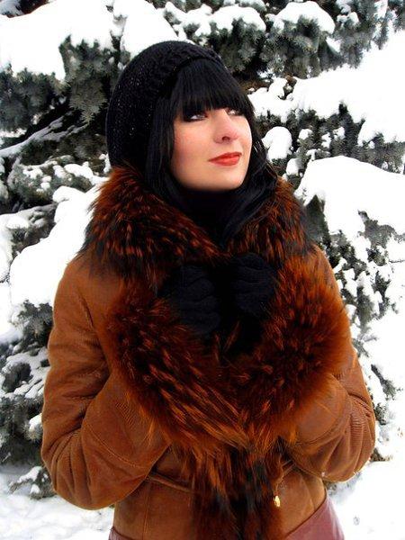 Фото: Gloria, 28 лет, Салехард в конкурсе «100 зимних одёжек»