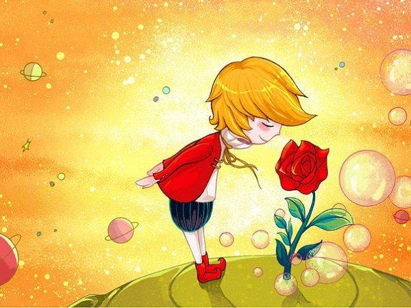 С днем рождения маленький принц открытка
