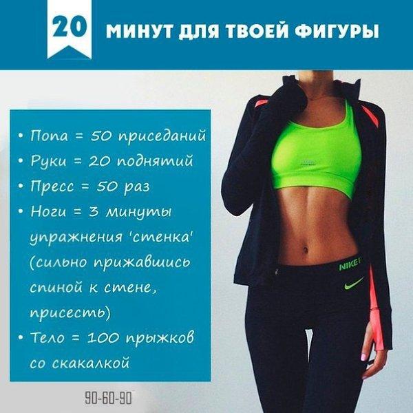 Идеальные упражнения для похудения