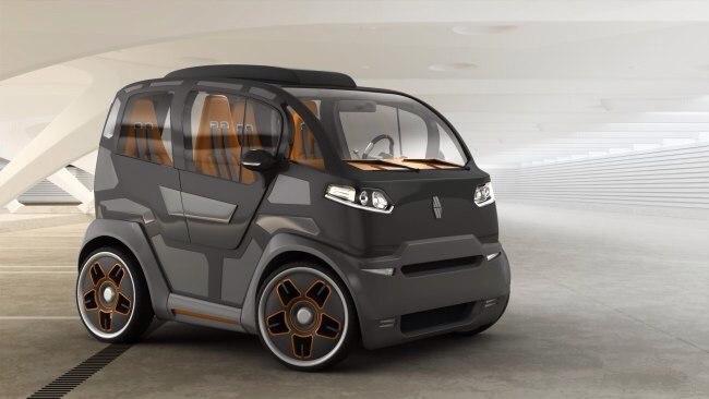 Городской мини-автомобиль от российских дизайнеров.Российская дизайнерская компания Mirrowcars ...