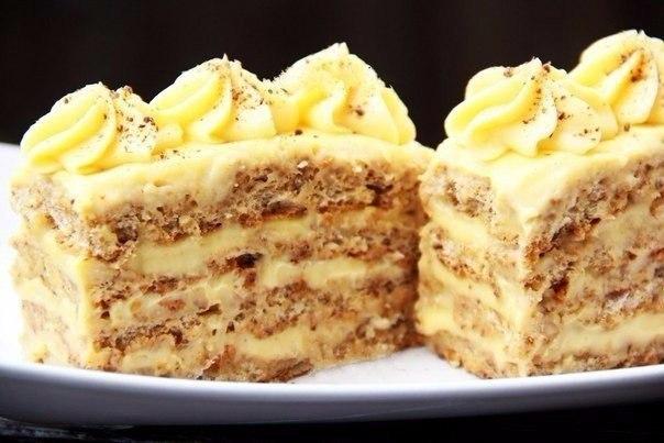 Рецепт ореховых пирожных. Хочу поделиться удивительным рецептом приготовления наивкуснейших ореховых ...