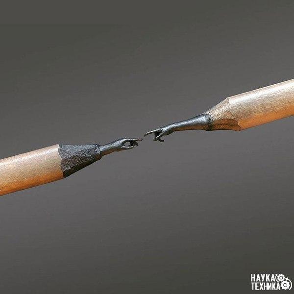 Скульптуры из карандашных грифелей, поразят ваше воображение.Все художники используют какие-то ...