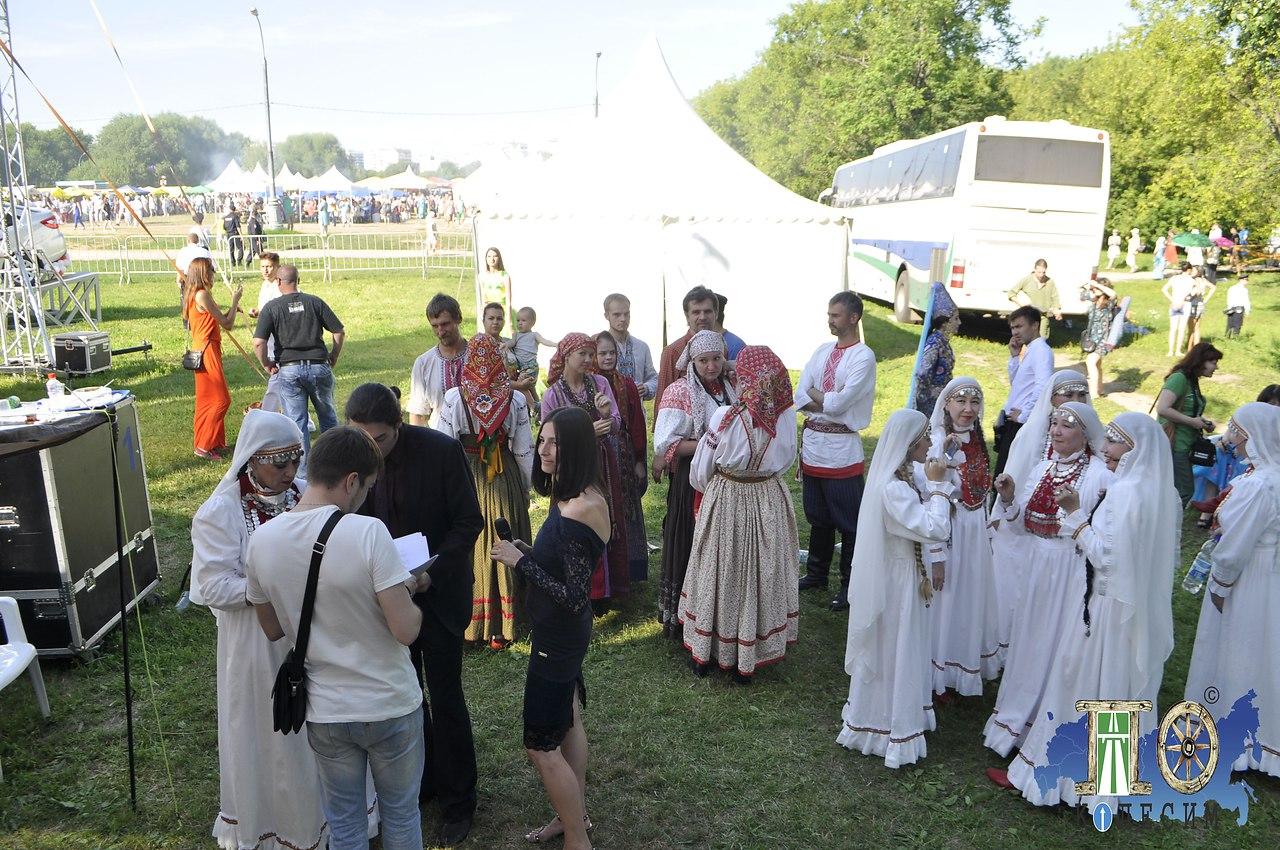 """Проект """"Поколесим"""" посетил праздник Сабантуй, на который организаторы пригласили наших ... - 18"""