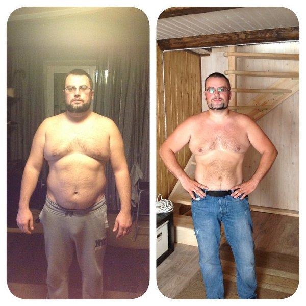 Как парень похудел за месяц