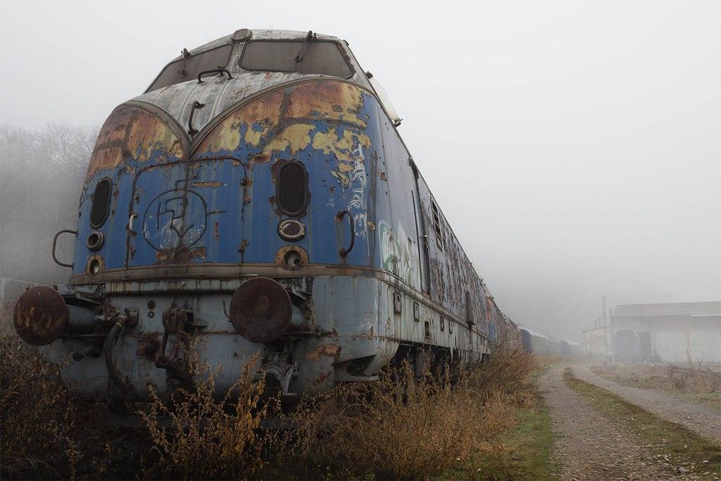 Картинки страшные поезда