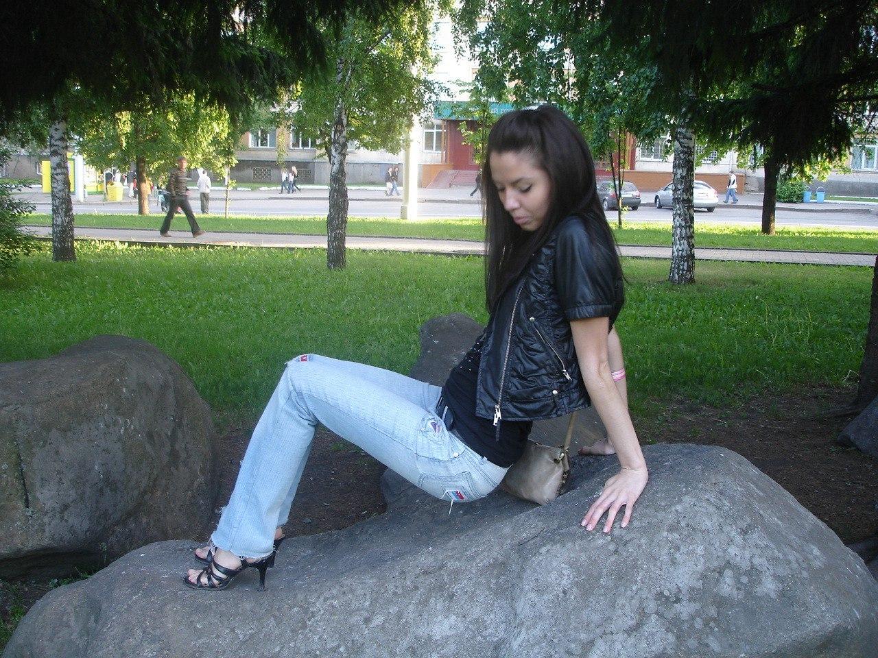 Фото девушки-брюнетки (24 фото) - Настя, 22 года, Кинель
