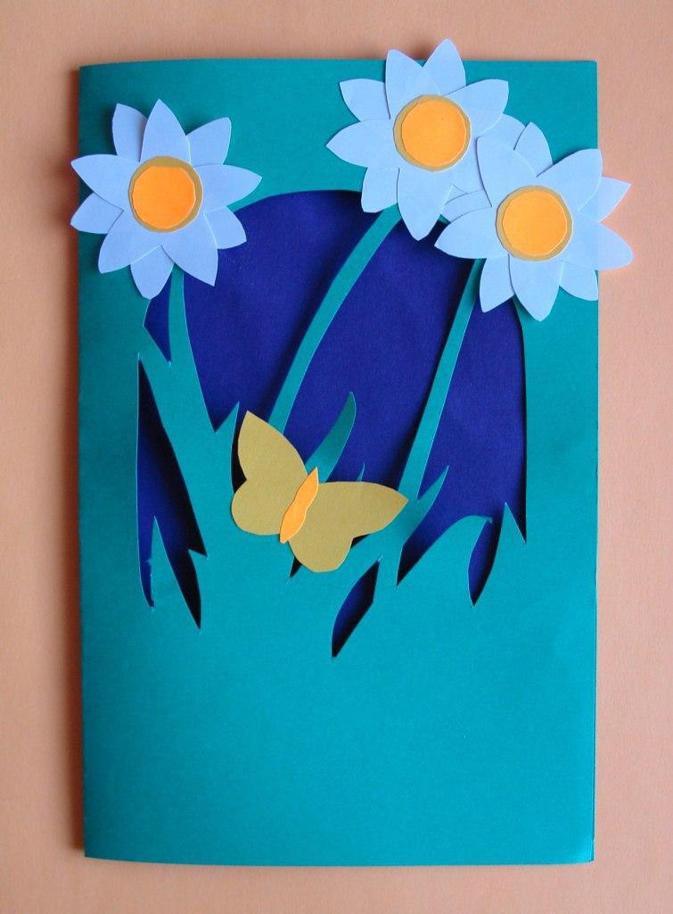 Поделки открытки мамам на 8 марта своими