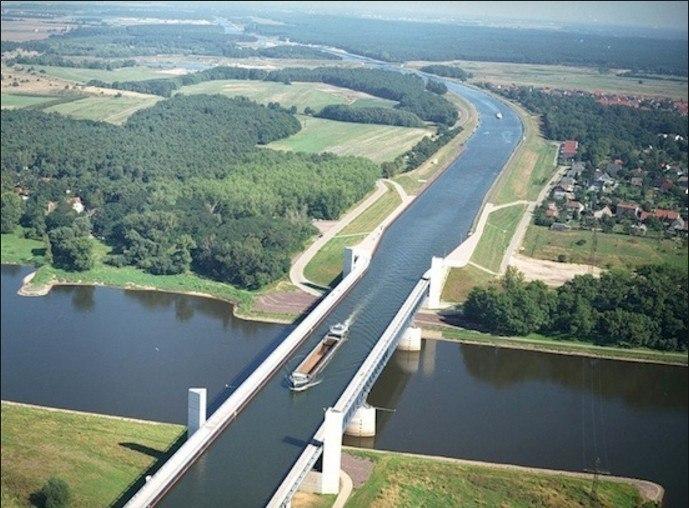 под водный мост в бельгии фото обретают свой потрясающий