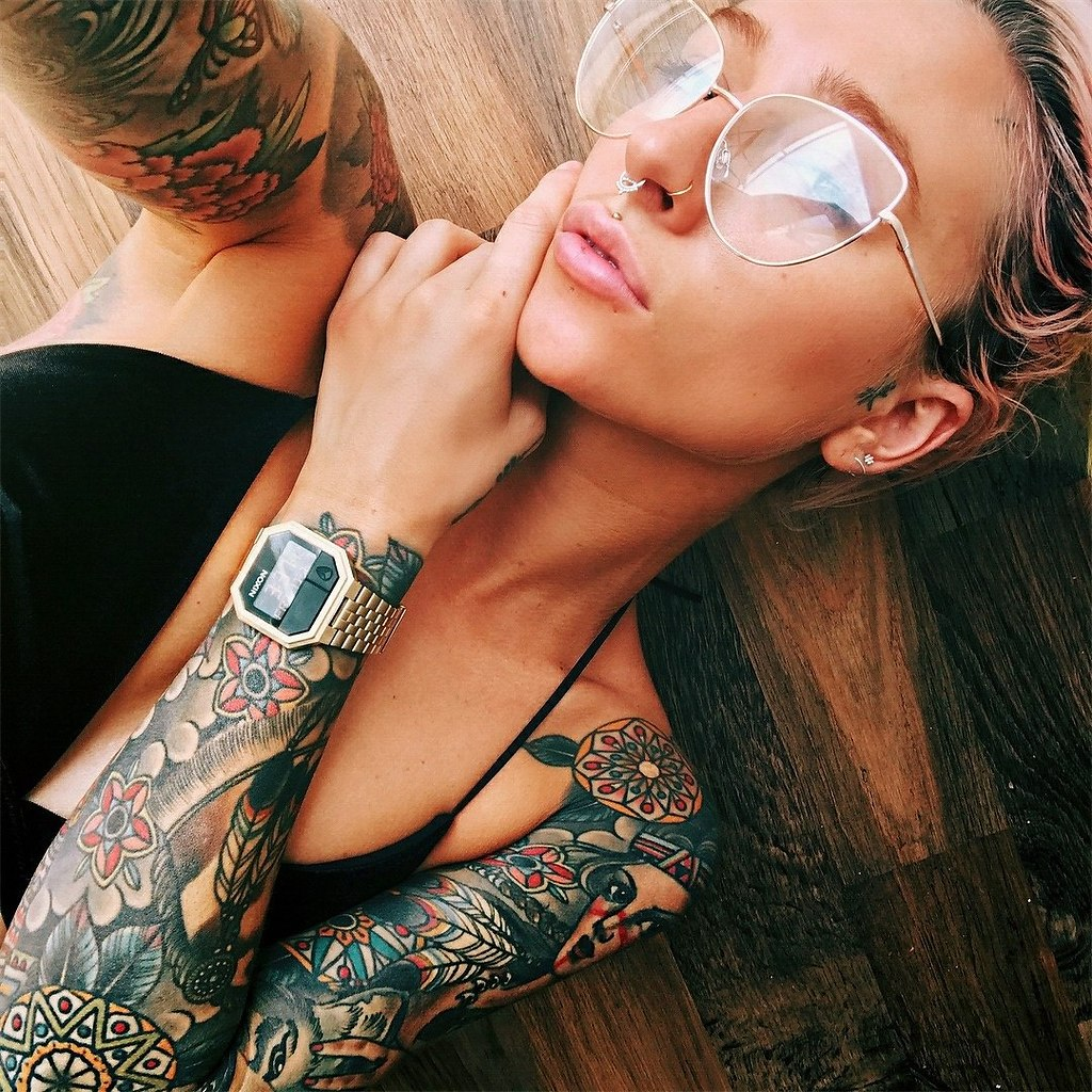 Фотографии со всего мира татуировок
