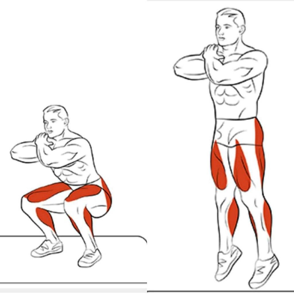 некоторое упражнения для ног с картинками делать