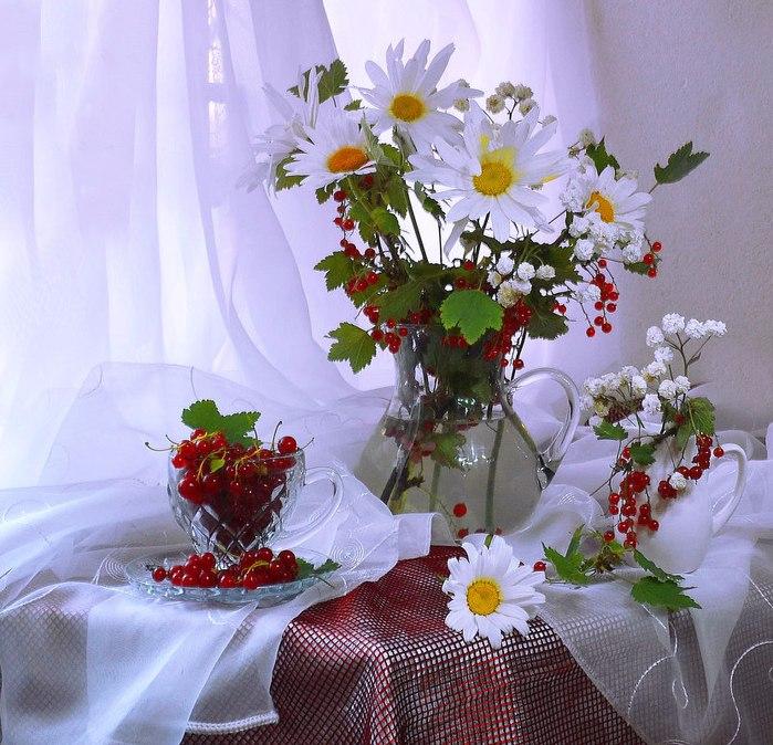 Открытки цветы добрый день, днем ангела гиф