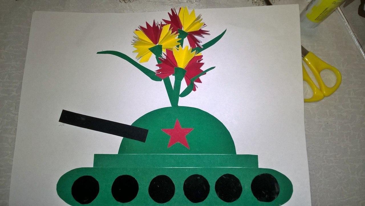 Как сделать открытку танк на 23 февраля, музыкальные