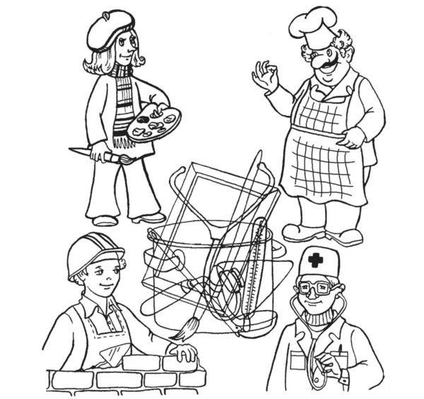развитие речи профессии картинки башкирии врачи вывели