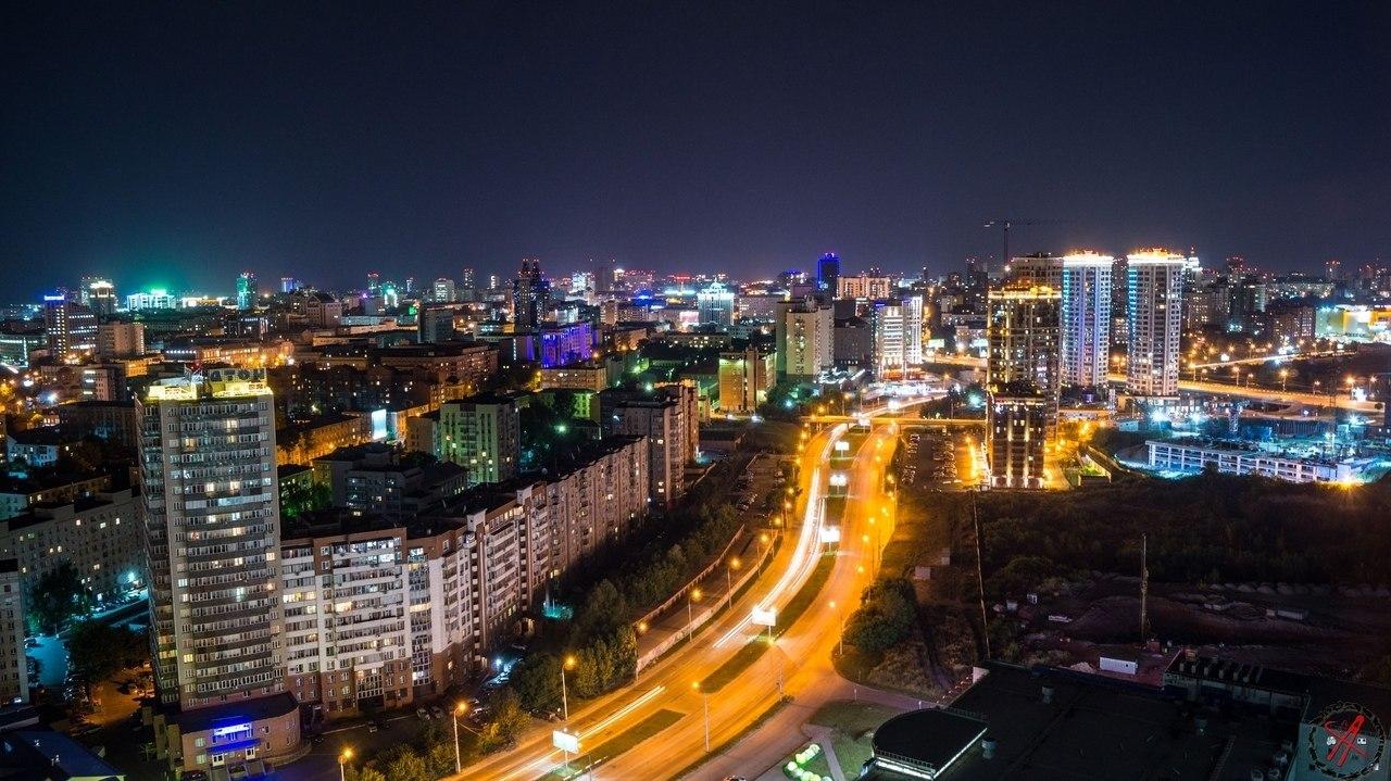 Картинки вечерний новосибирск