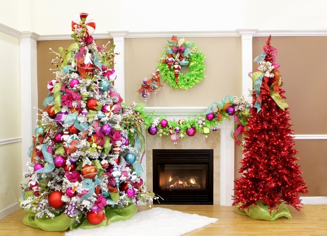 новогодние елки фото для дома оплачивается