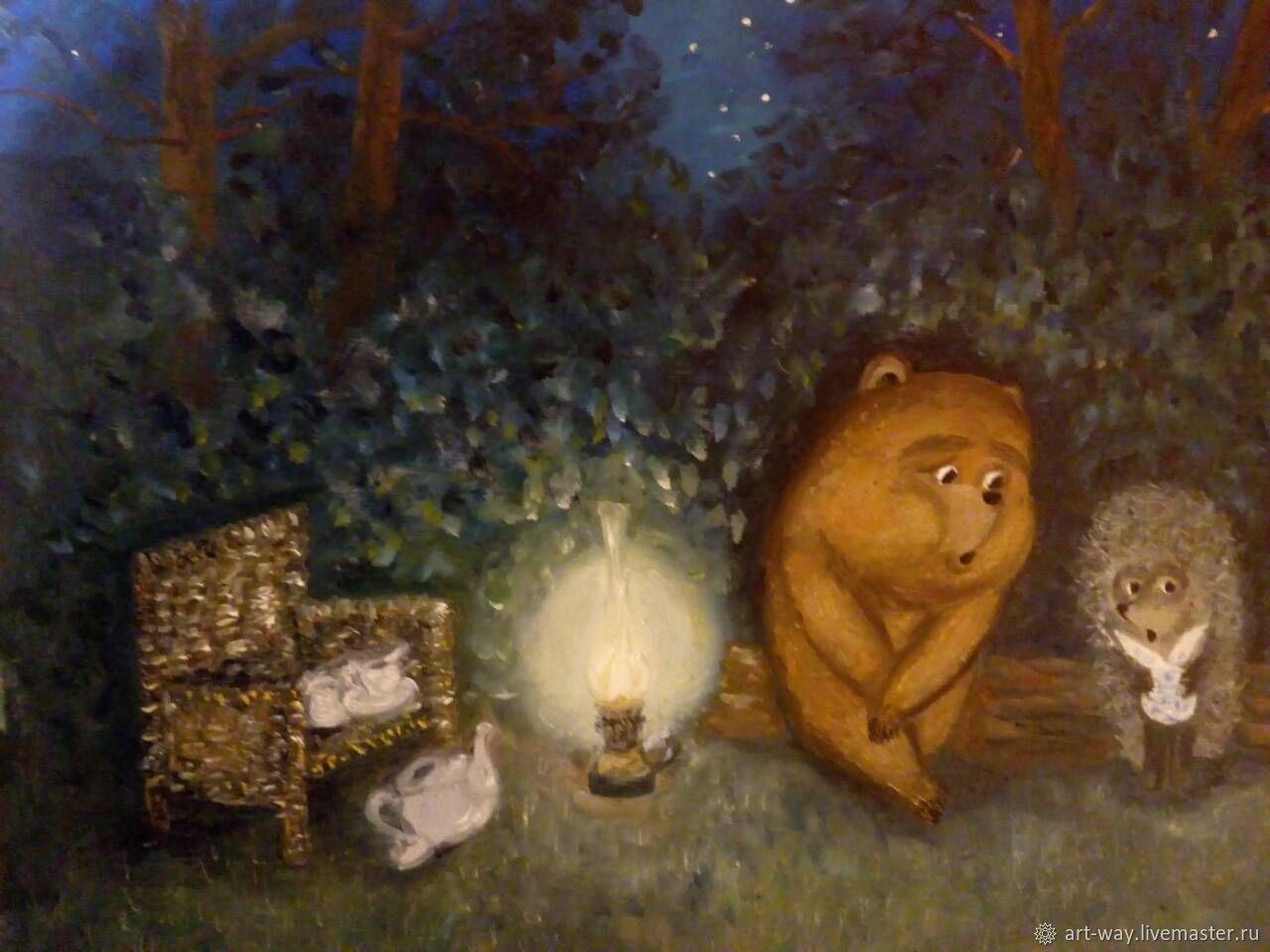 картинки с ежиками и медвежатами условно-съедобны, это мешает