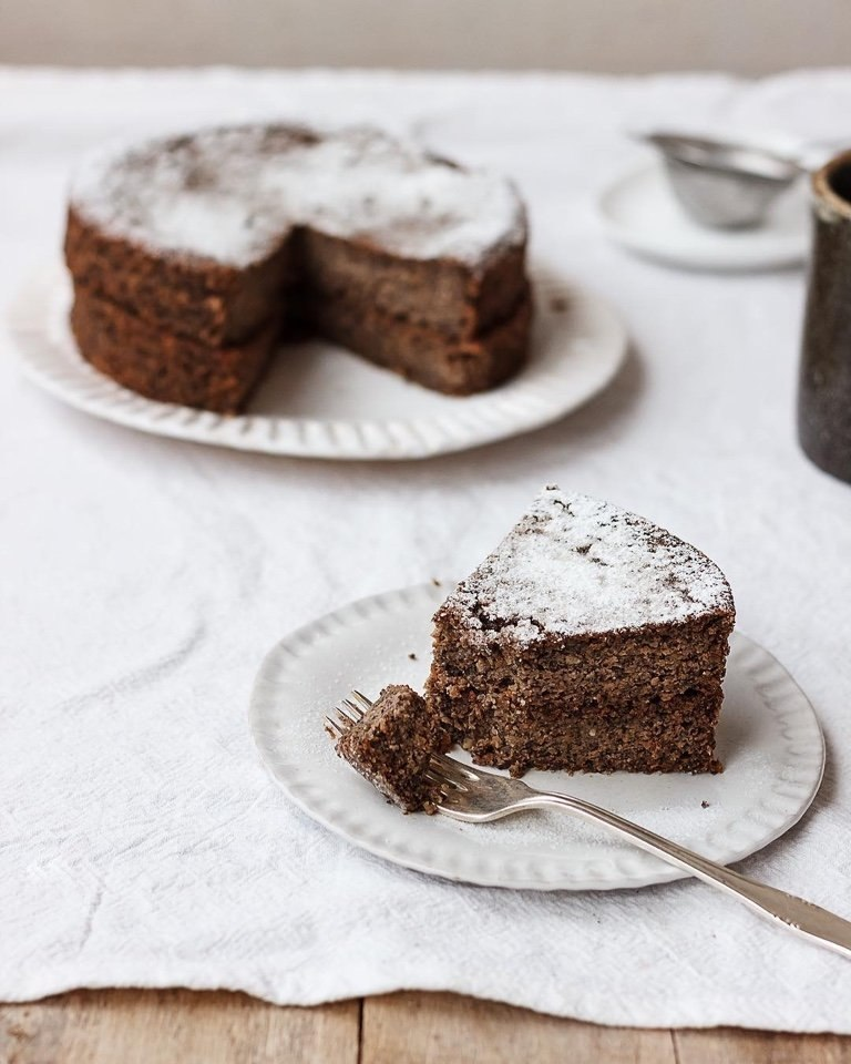 рецепт макового торта без муки с фото была