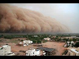 СТРАННЫЕ ПРИРОДНЫЕ ЯВЛЕНИЯ Пыльные бури (песчаные бури)