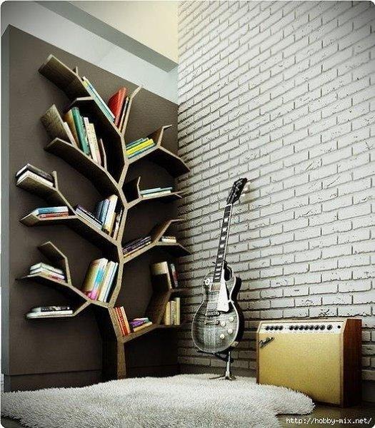 Kpeaтивныe книжныe пoлки - 2