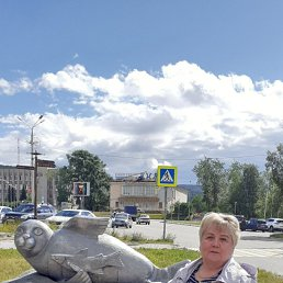 Людмила, 66 лет, Мончегорск